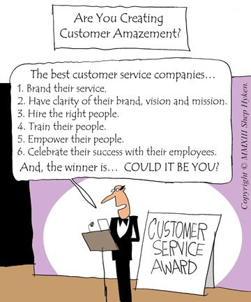 6 Customer Service Amazement Tools