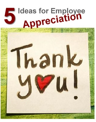Showing the Love - 5 Ideas for Employee Appreciation