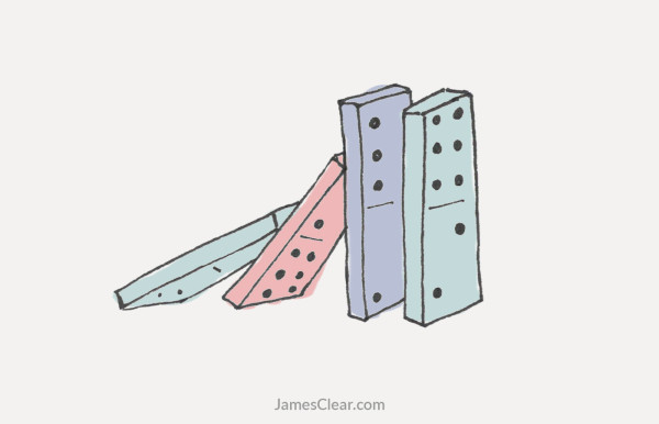 The Domino Effect How to Create a Chain Reaction of Good Habits