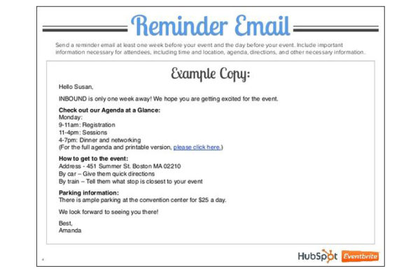 7 Tips to Make Your Reminder Emails Successful