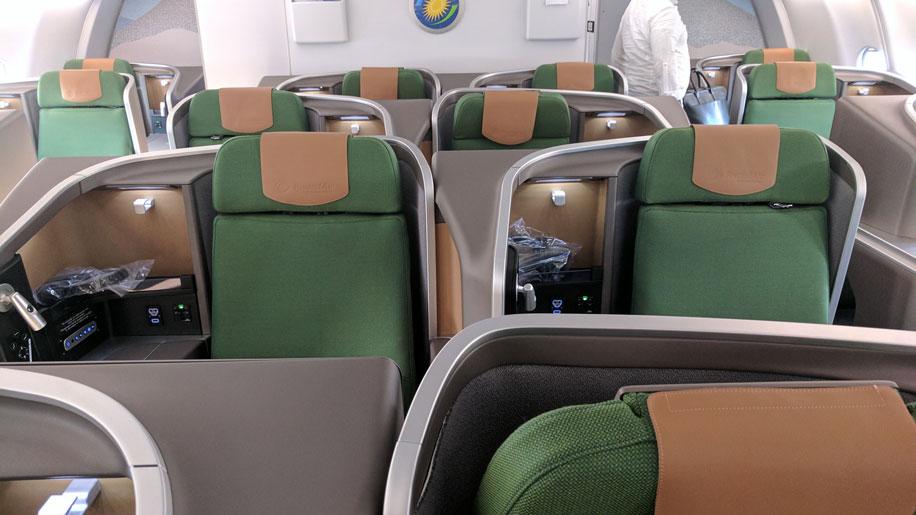 Flight Review Rwandair A330 300 Business Class Business