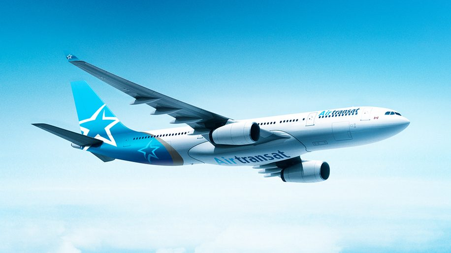 Flights Westjet Airlines Air Transat Unveils New Livery – Business Traveller