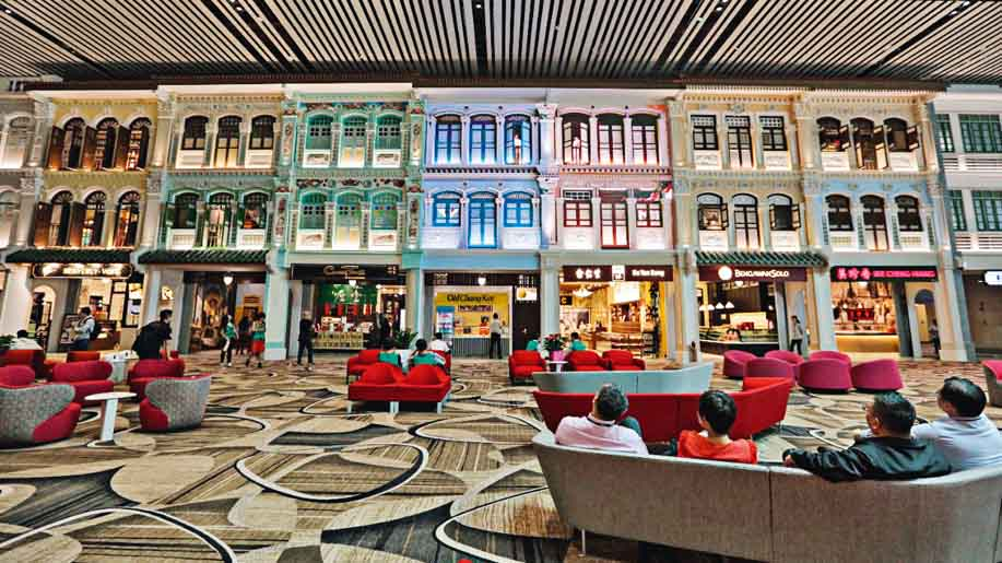 Changi Airport Singapore Changi Terminal 4 Offers Premium Experience With