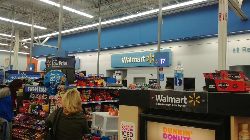 Walmart Supercenter - Department store 150 Harrison Ave, Kearny