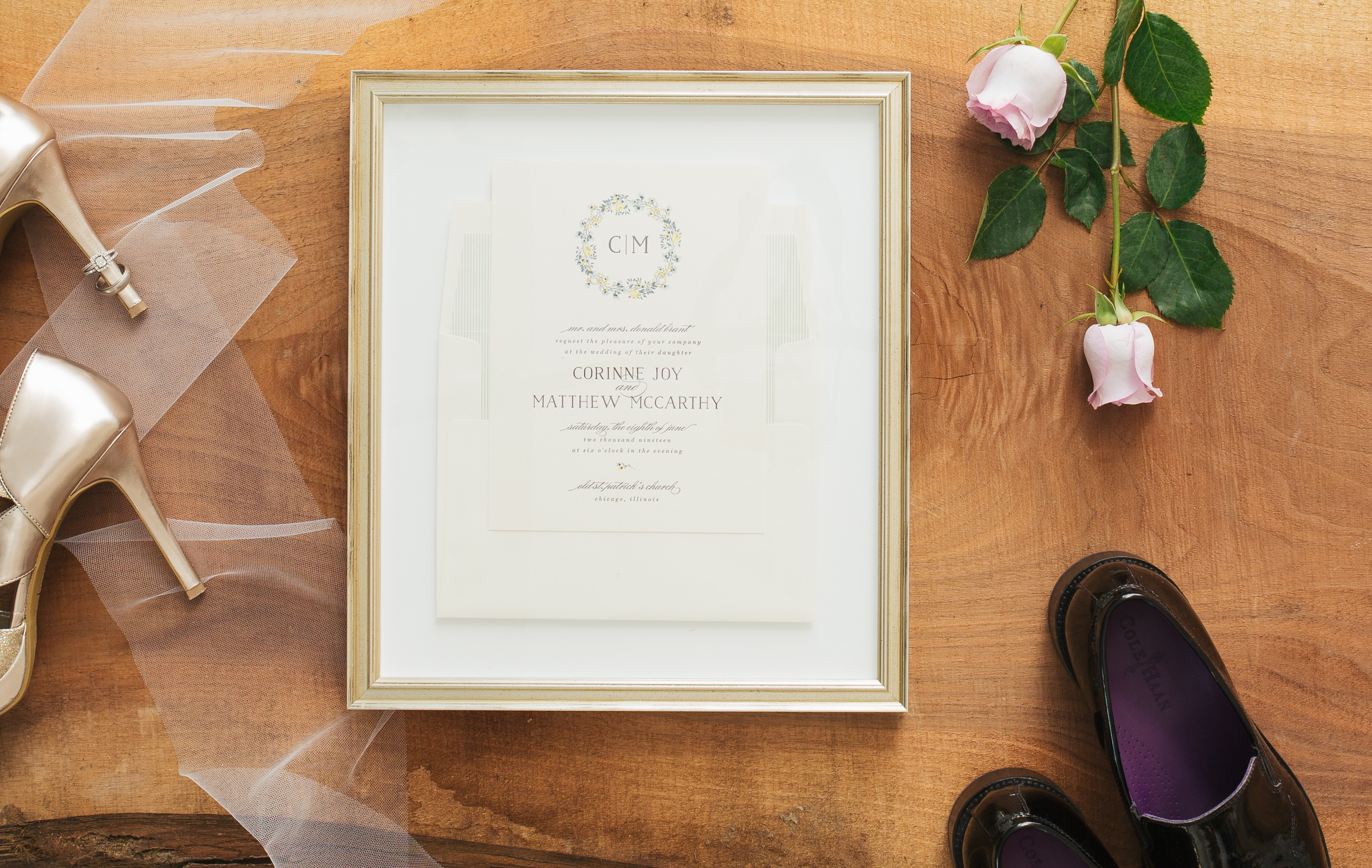 How To Frame Pictures How To Frame A Wedding Invitation