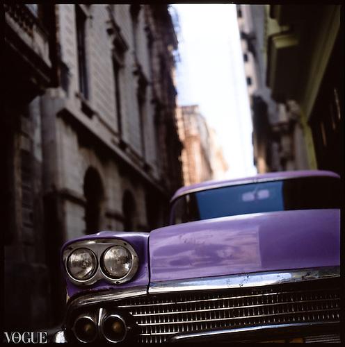 Vintage Cars, Havana, Cuba | Colour Film Photography