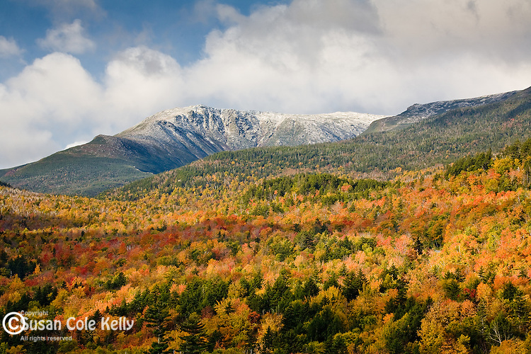 Fall Colors Wallpaper New England Autumn Snow On Mt Washington Susan Cole Kelly Photography