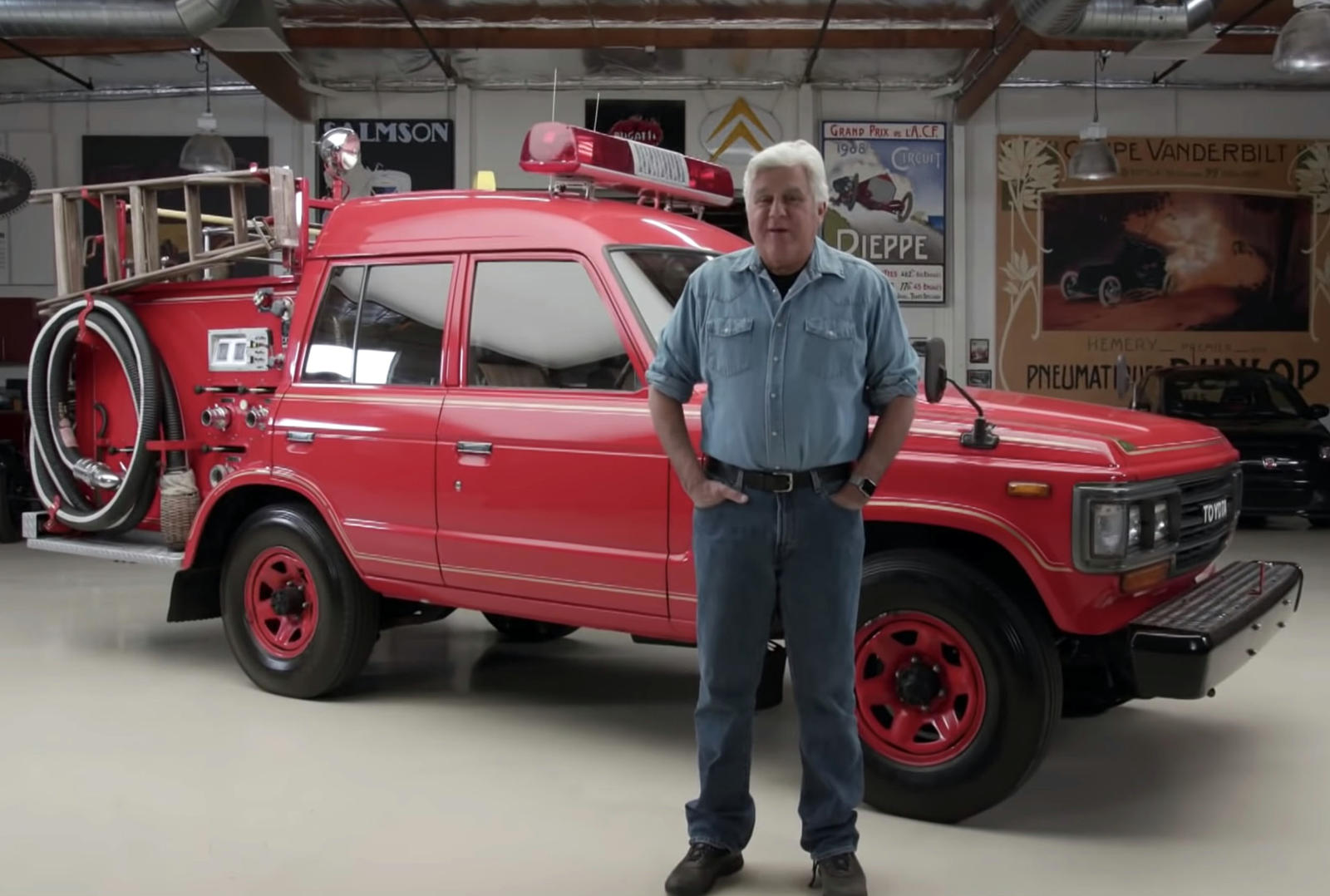 Garage Volkswagen Dieppe Jay Leno Loves This Japanese Fire Truck Carbuzz