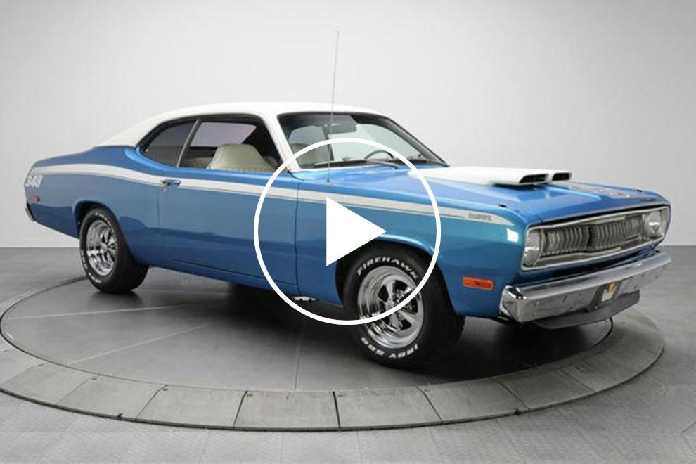 Forgotten American Muscle Plymouth Duster 340 CarBuzz