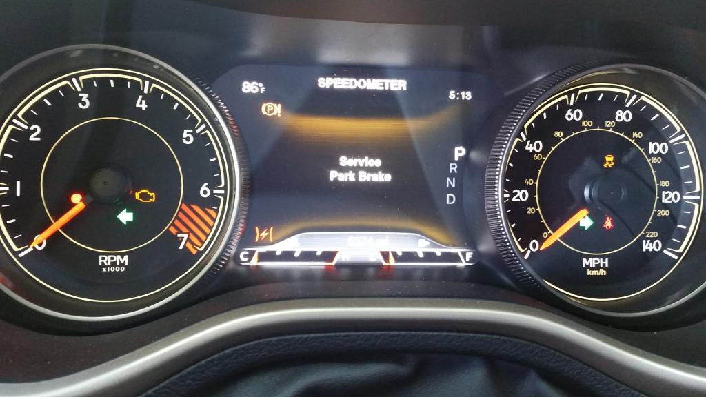 2015 Jeep Cherokee Transmission Failure Check Engine