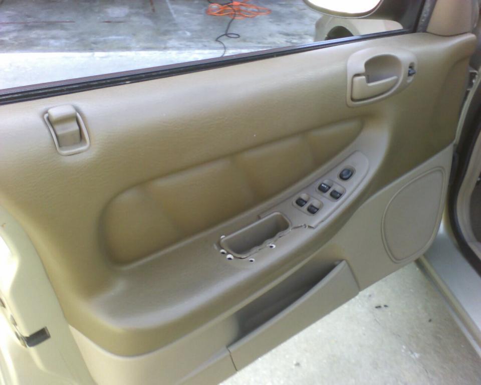 2002 Dodge Stratus Bezel Around Window/Door Locks Cracked 1 Complaints