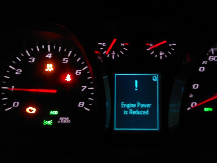 2010 Chevrolet Equinox Check Engine Light Is On 12 Complaints