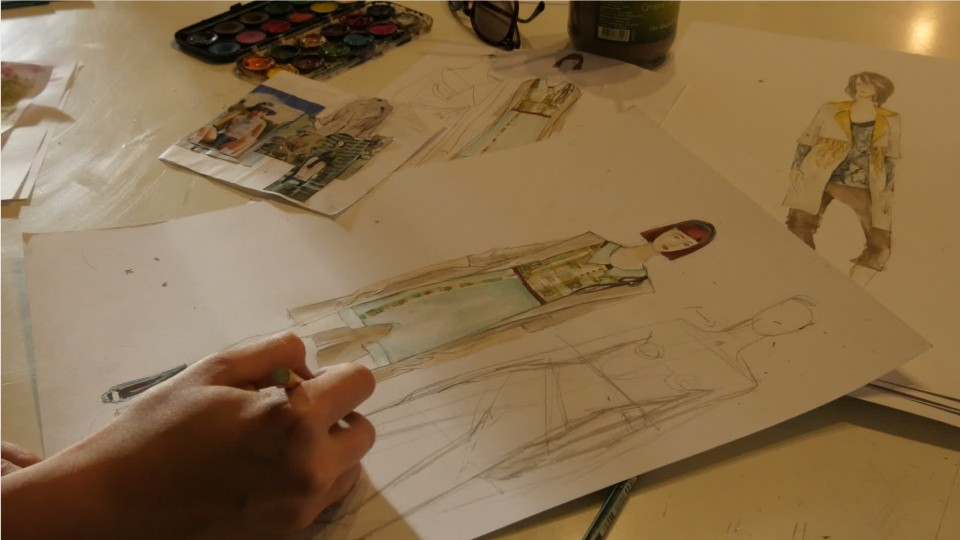 how to sketch fashion designs