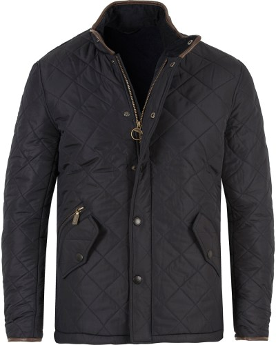 Barbour Lifestyle Powell Quiltade Jacket Navy hos ...