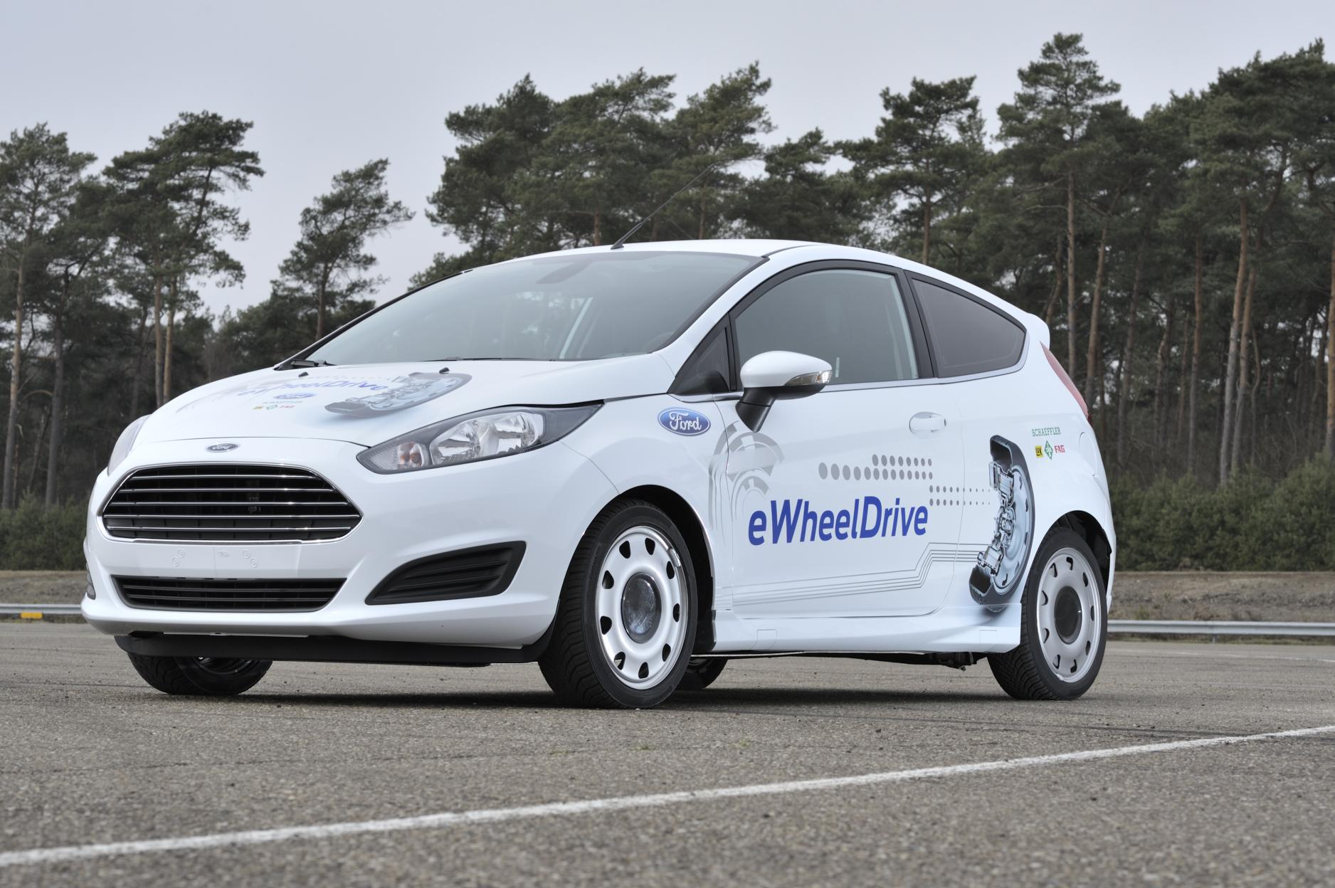 Ford Fiesta Electric News Ford Showcases Electric Fiesta