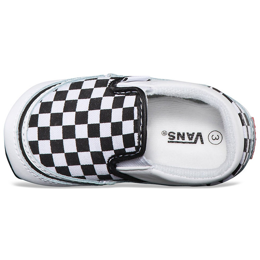 Newborn Shoes Vans Vans Infant Classic Checkerboard Slip On Shoes