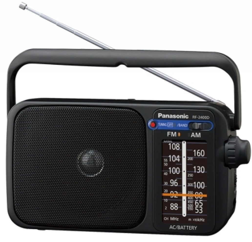 Tivoli Audio Korjaus Panasonic Radio Rf 2400deg Black