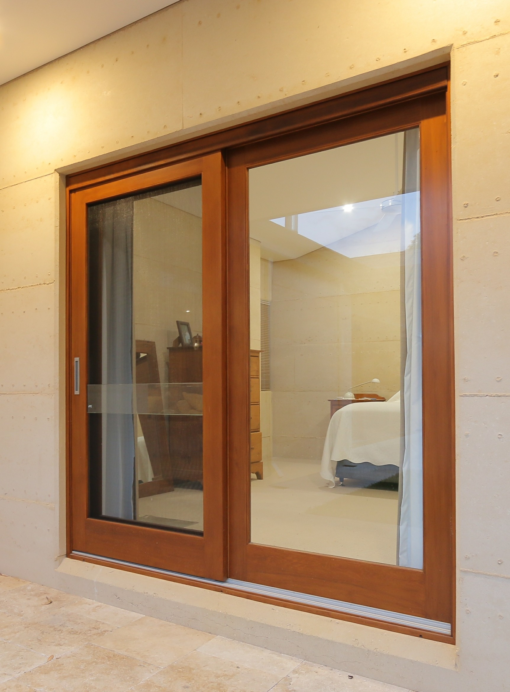 Timber Glass Doors Sliding Doors