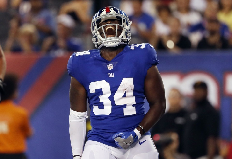 What\u0027s life like at the bottom of Giants depth chart? RB Jalen
