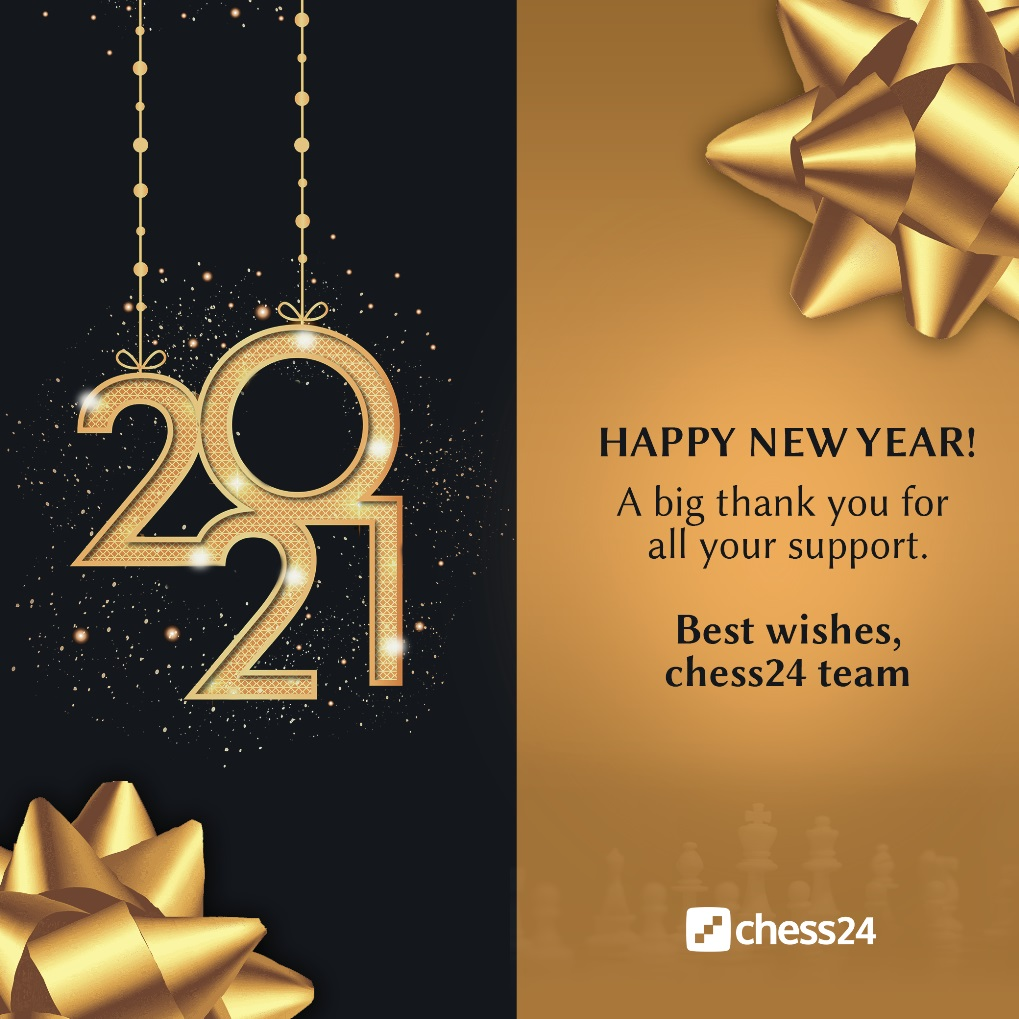 Happy New Year From Chess24 Chess24 Com