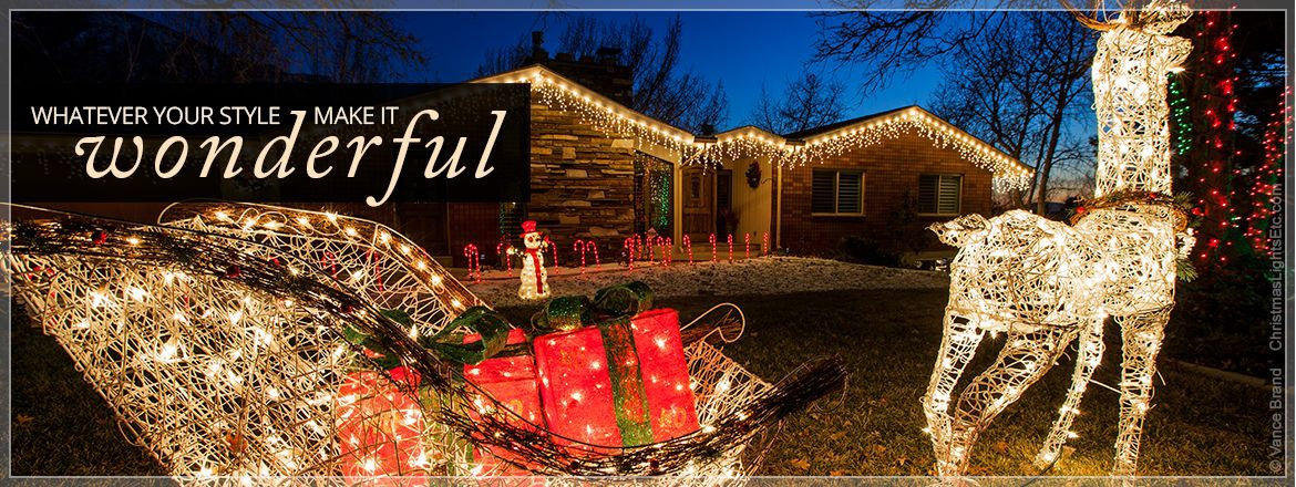 Christmas Decorations - outdoor led christmas decorations