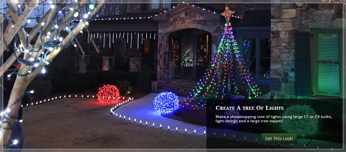 Outdoor Christmas Yard Decorating Ideas - large christmas decorations