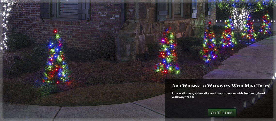Outdoor Christmas Yard Decorating Ideas - lighted outdoor christmas decorations