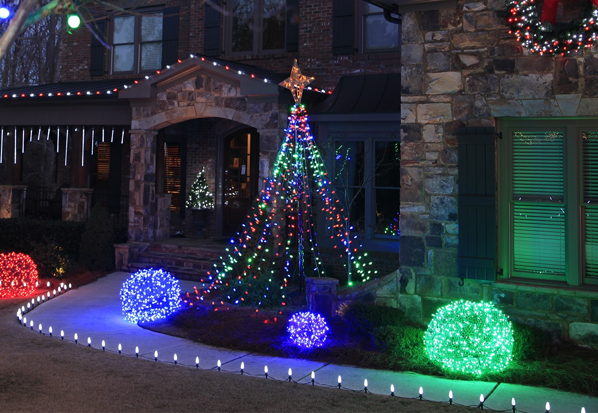 Outdoor Dekoration Outdoor Christmas Yard Decorating Ideas
