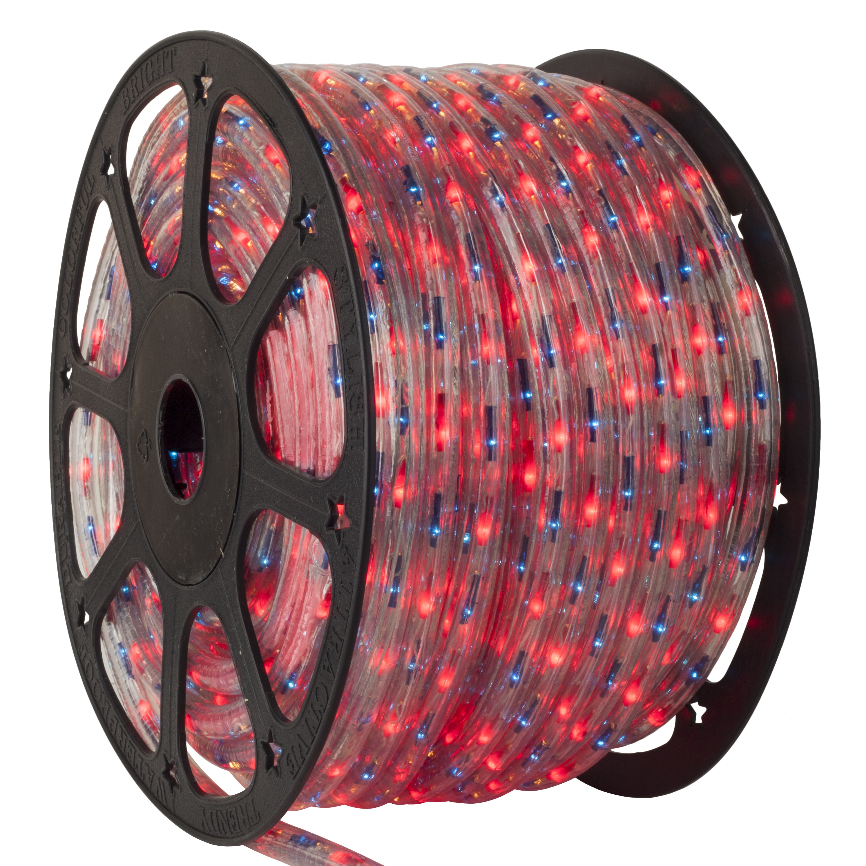 Multicolor Led Strip Rope Light - 150' Red, Blue Chasing Rope Light Commercial