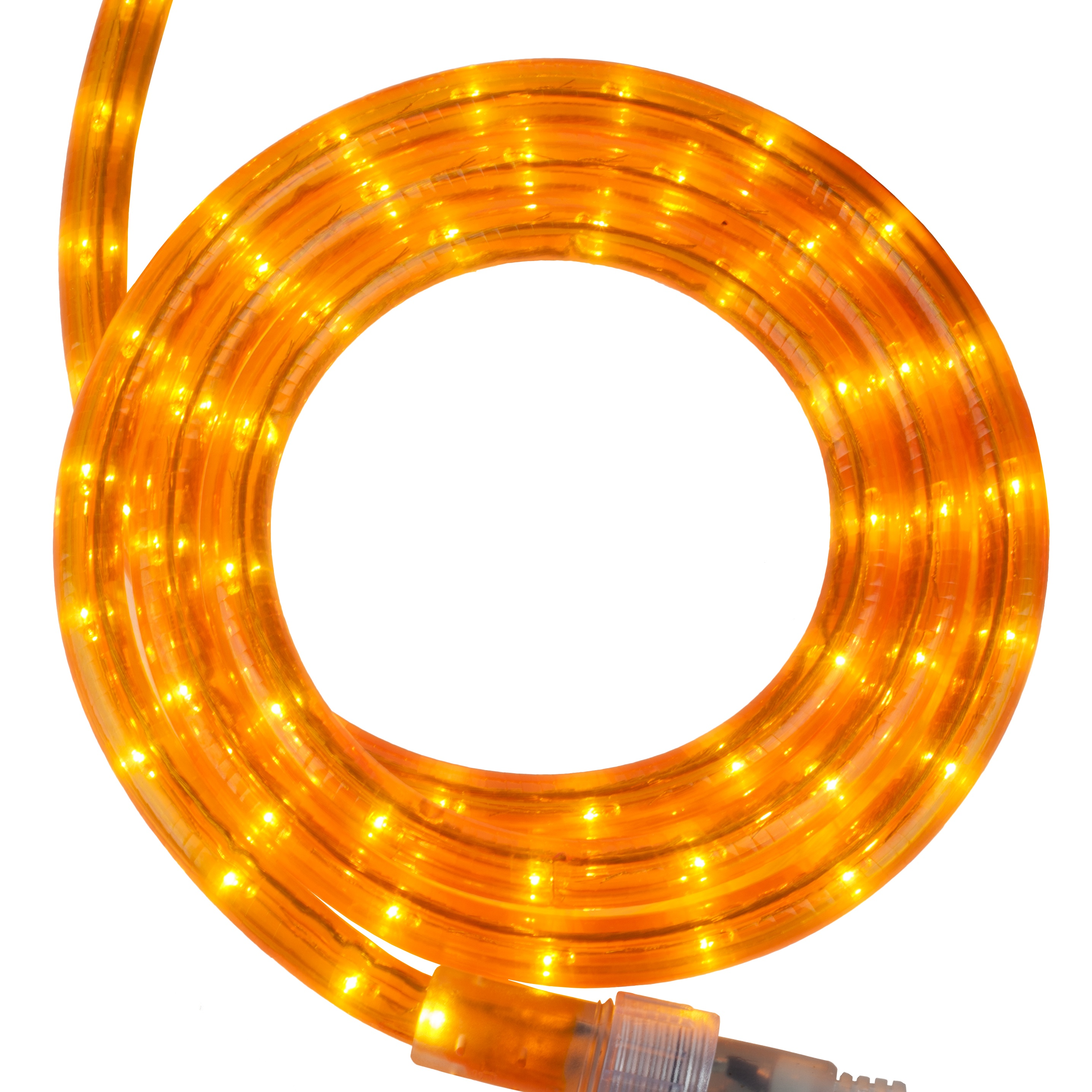 Rope Lights Rope Lighting 30 39 Orange Rope Light 120 Volt
