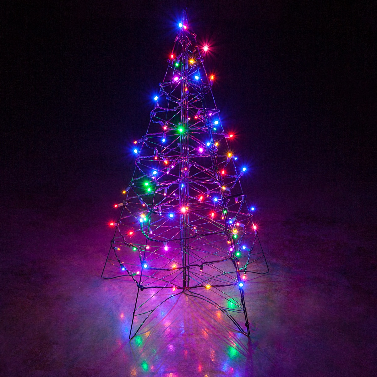 Free My 3d Christmas Tree Animated Wallpaper Lighted Multicolor Led Outdoor Christmas Tree