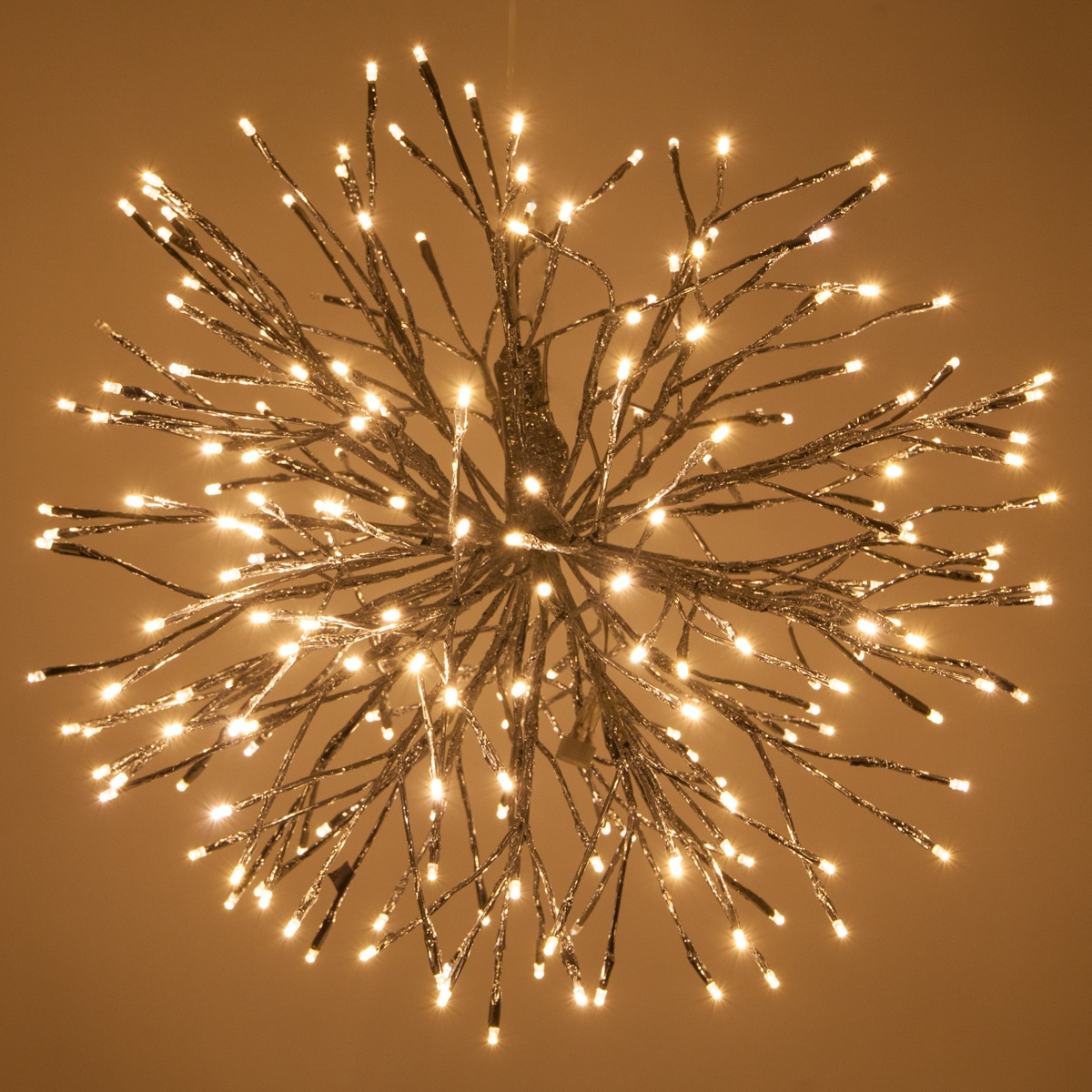 Led Rope Lights For Home Silver Starburst Lighted Branches With Warm White Led