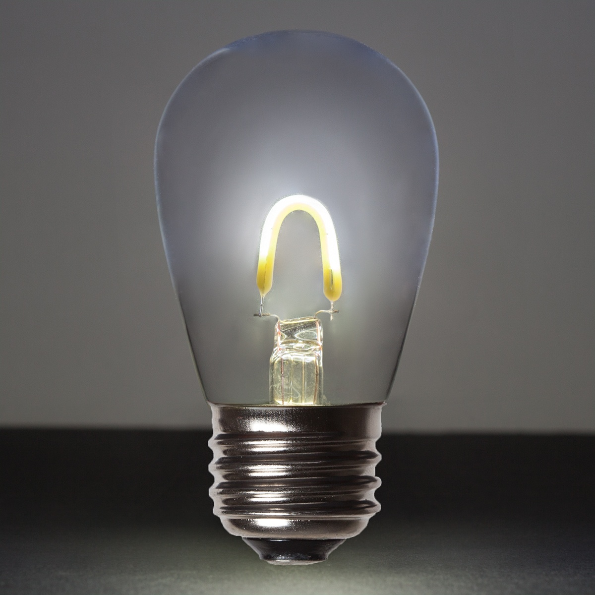Led Edison Bulb S14 Cool White Glass Flexfilament Tm Led Edison Bulb