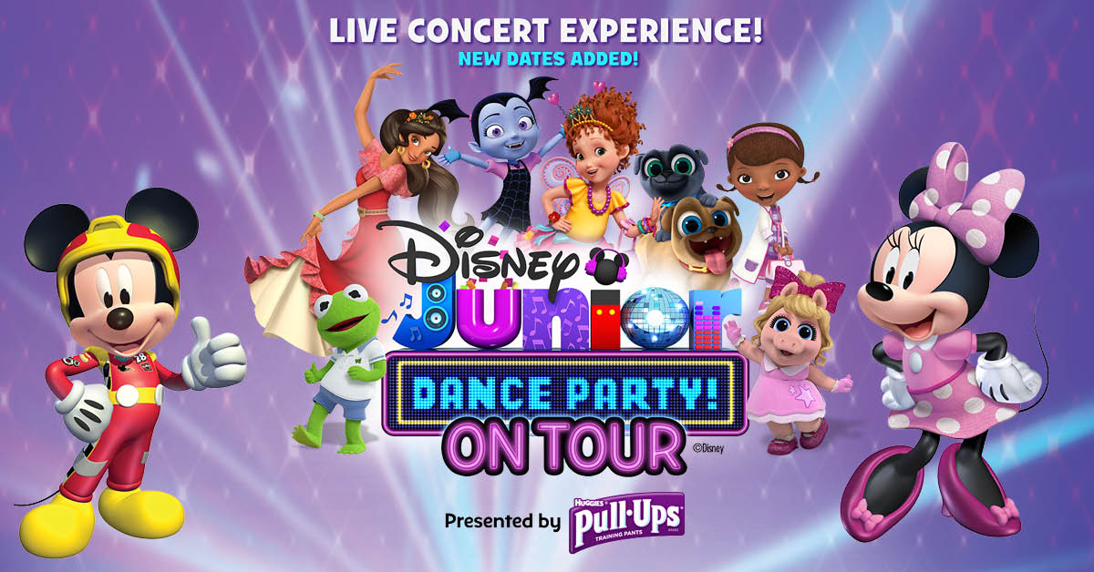 Disney Junior Dance Party Tour Vip Party Pass