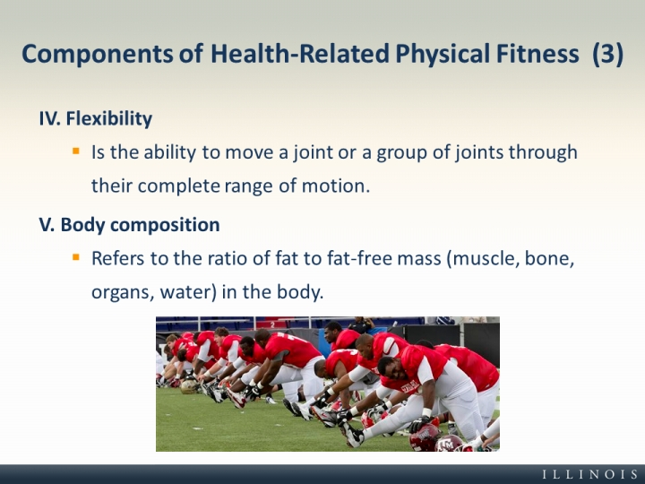 Components of Health-Related Physical Fitness (3)