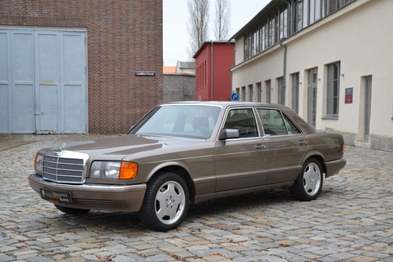 Mobile Klimaanlage Auto 1988 Mercedes-benz 500 Se/l W126 Is Listed Sold On