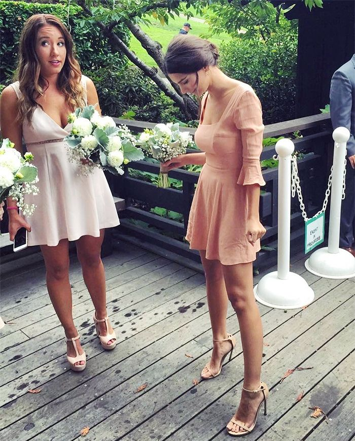 Celebrity Wedding Guest Outfits Who What Wear