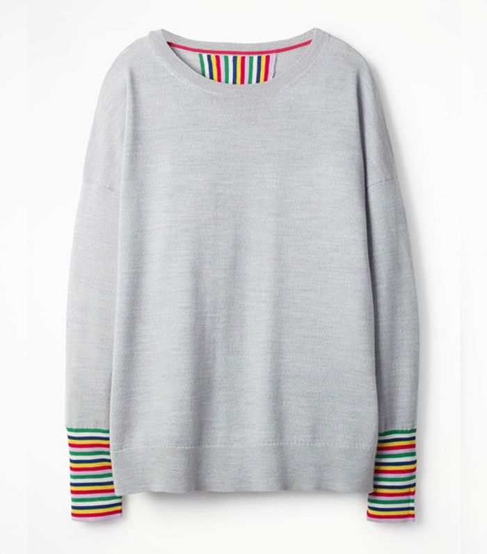 Pullover Trend The Best Rainbow-striped Jumpers | Who What Wear Uk