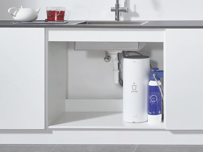 Keukenkast Boiler Installation & Service Grohe Red | Grohe