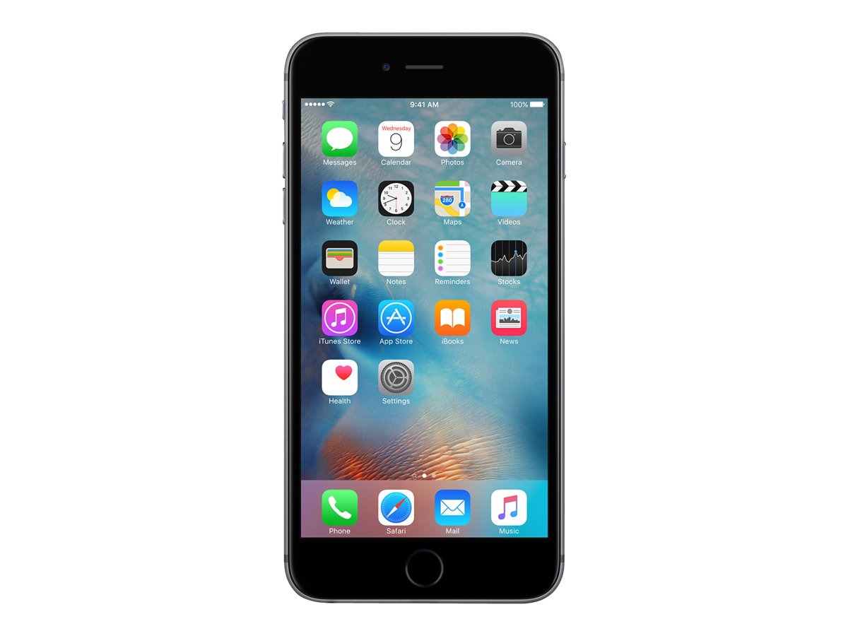 Papeterie Bureau Vallée Apple Iphone 6s Smartphone Reconditionné 4g 64 Go Gris Sidéral