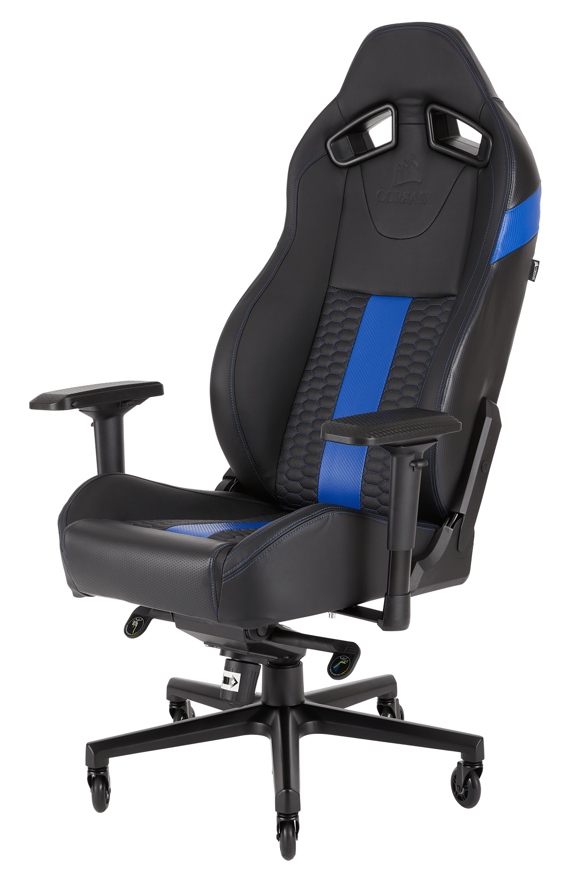 Gamer Sessel Media Markt Corsair Cf 9010009 Ww Gaming Stuhl Schwarz Blau