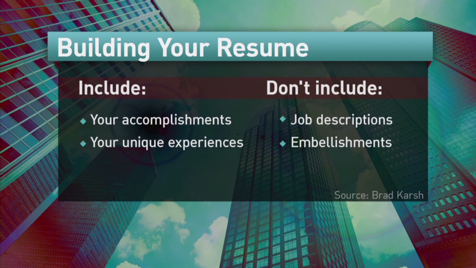 Fine tuning your resume and cover letter - CNN Video