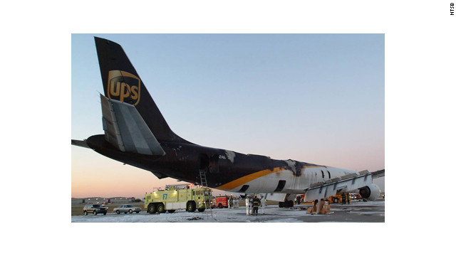Fire protection aboard freight aircraft unsafe, NTSB says - CNN