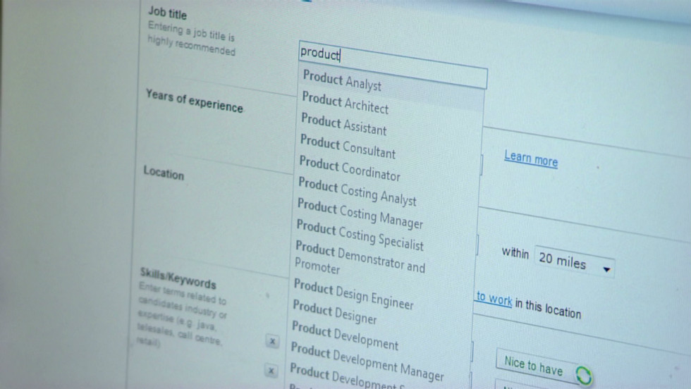 Software weeds out weak resumes - CNN - recommended font for resume