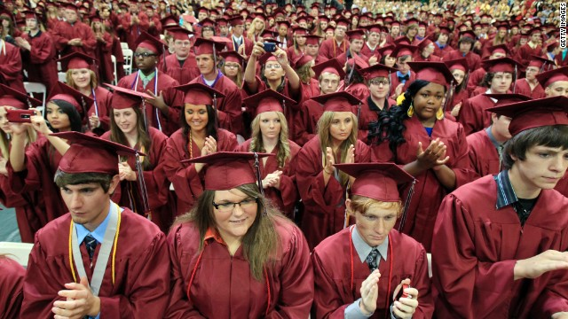 Opinion What you won\u0027t hear at high school graduation - CNN - seniors high school