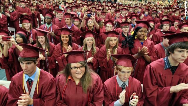 Opinion What you won\u0027t hear at high school graduation - CNN - seniors high school