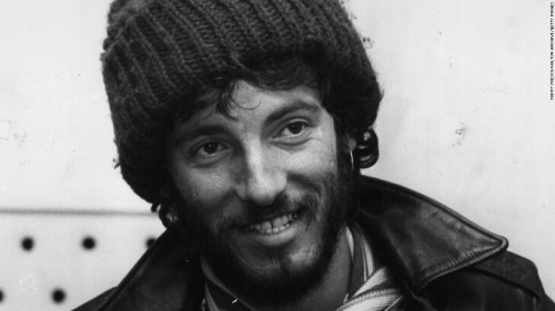 """Bruce Springsteen in 1975, the year of his """"Born to Run"""" breakthrough."""