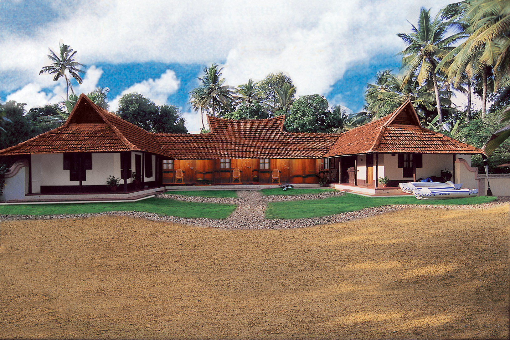 Beautiful Farmhouse In Kerala Kerala S Backwaters See India At A Relaxing Pace Cnn Travel