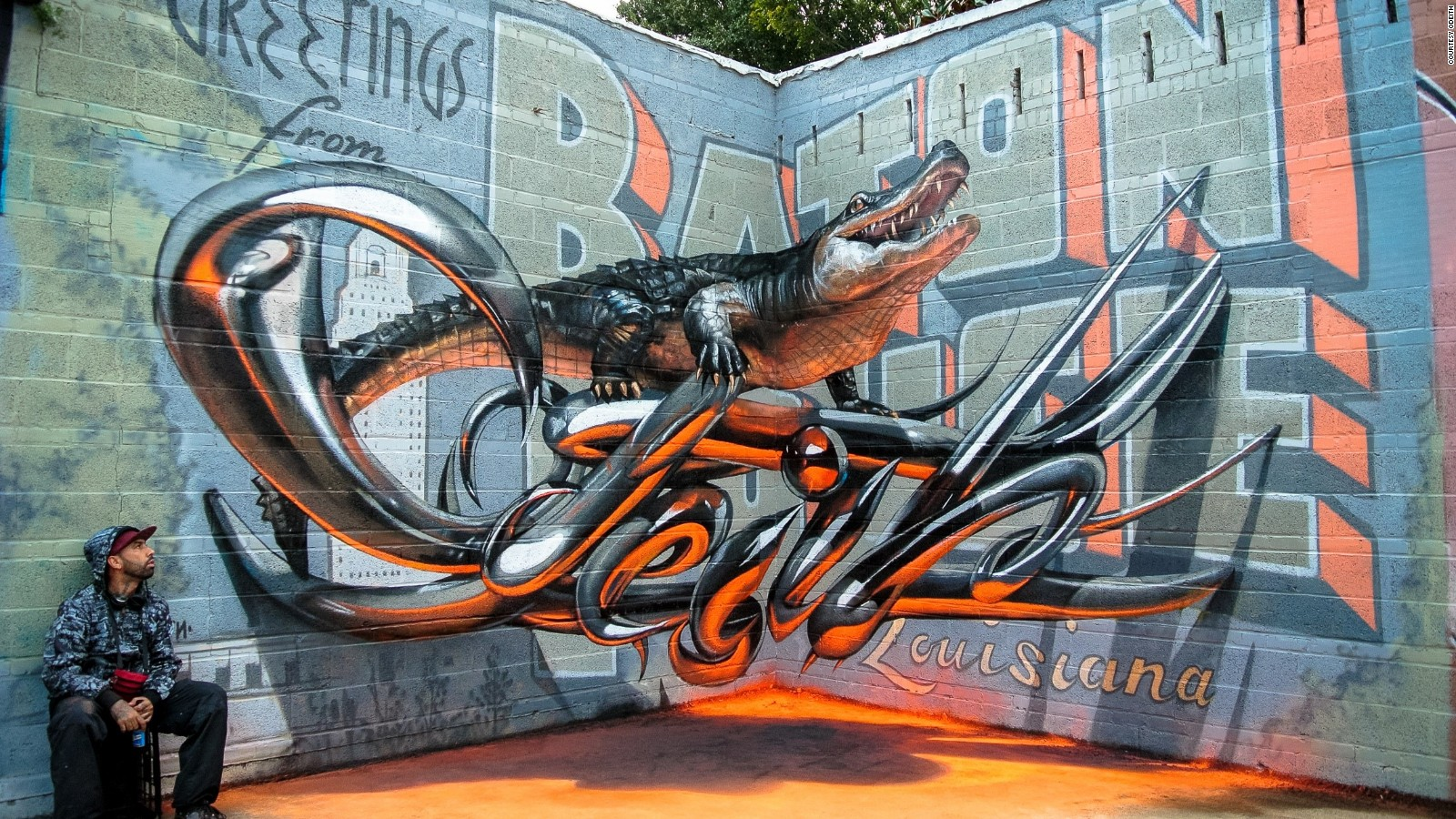 3d Street Art Photos What S The Secret Behind These Eye Popping Illusions Cnn Travel