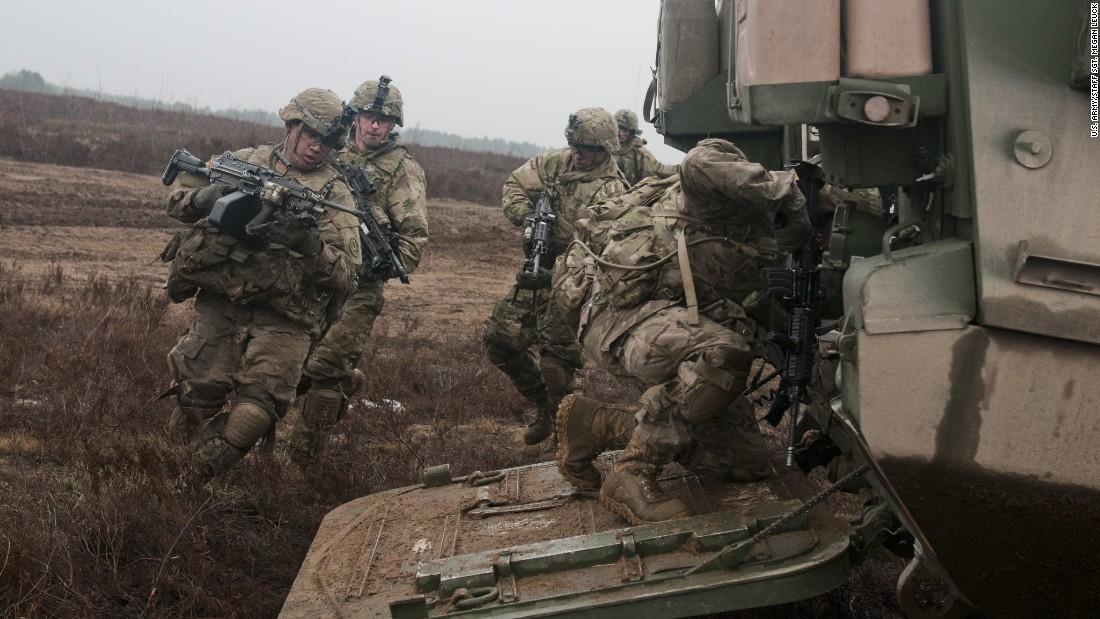 US Army sending armored convoy 1,100 miles through Europe - CNN